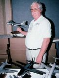 2002 - Roger Jarman of Atlantic Models at the Airliners International Show in Houston