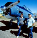 2005 - Dave Campbell and Eddy Gual at 2005 TICO Warbird Air Show