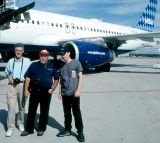 2000 - Bob Durey, Eddy Gual and Brian Stevenson at MCO