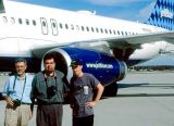 2000 - Bob Durey, Joe Fernandez and Brian Stevenson at MCO