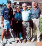 2004 - Jeff Johnson, the late Margaret Morton, John Morton and Bob Durey