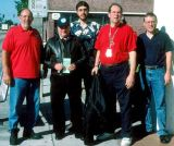 2003 - Don Levine, Bob Shane, Greg Drawbaugh, Phil Glatt and Bill Demarest