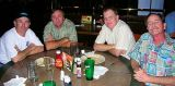 2006 - Mike Carter, Doug Kerr, Mark Abbott and Steve Griffin at Bennigans