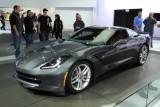 2014 Chevrolet Corvette Stingray at New York International Auto Show -- March 2013
