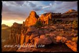 Sunset at Green River Overlook, Canyonlands NP