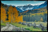 The Blue Lakes Trailhead meadow