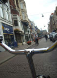 even zach has a bike in the hague