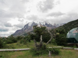 View of Torres del Paine from EcoCamp (2375L)
