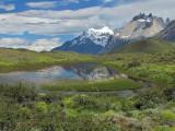 Torres del Paine Reflection (2468L)