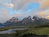 Torres del Paine at Sunrise (2413L)