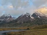 Torres del Paine at Sunrise (2427L)