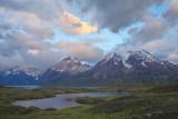 Torres del Paine at Sunrise (3639-3641)
