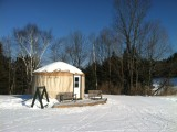 Skate Skiing at Pineland, 1/6/2013