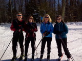 Skiing at Pineland, 2/10/2013