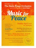 Ikeda Kings Orchestra - Music for Peace 4-21-13