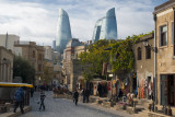 The old city near the 'Maiden tower' - Baku, Azerbaijan