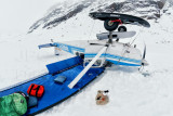 Glacier crash - Alaska