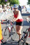 dismount & on to the run