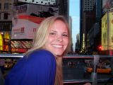 alex in times square