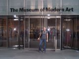 alex at the museum of modern art