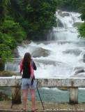Me shooting the falls