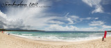 Dahican beach panorama