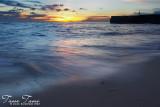 Sunset at Sandbar Lepa