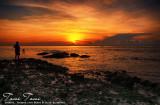 Sunrise in Sandbar Lepa Beach