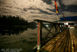 Lake Sebu on a full moon