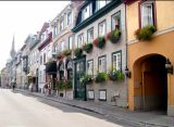 A street in the Upper Town section of Old Québec.