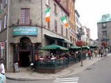 A pub in the Upper Town section of Old Québec.