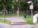 Jardin des Gouverneurs  - park next to Le Château Frontenac.