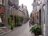 Rue du Petit-Champlain. This area, Quartier Petit-Champlain, is the oldest village in North America - Lower Town.