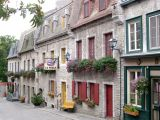 A street near Place Royale in the Lower Town section of Old Québec.