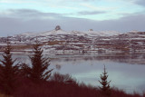 Berufjörður, Vaðalfjöll og Búrfell