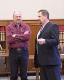 Darrell Walace and Representative Blake