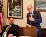 Representative Blake and WA State Parks Commissioner Mark Brown