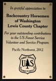 2012 USFS Pacific Northwest Award