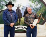 Jim Anderson receiving a Lopper  Award