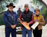 Gary and Barbara Sterner receiving a Lopper  Award
