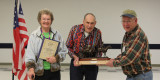 Lifetime Achievement Award for Louis and Bernice Kloewer presented at the April meeting