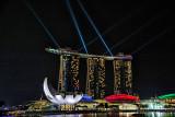 Skyline at Singapore's Marina Bay