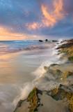 Trigg Beach at Sunset