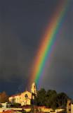 St Columba's Church Rainbow