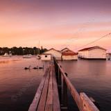 Sunset at Freshwater Bay