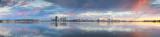 Perth Swan River Sunrise, 22nd January 2011