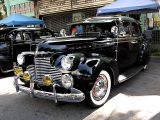 1940 Chevrolet Sedan. Very strong resemblence to Buick's 1940 models.