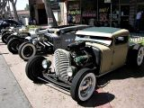Rat Rods in a row