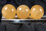 Honey Calcite Sphere 40mm, 100g - Crystal Ball - Boosts Psychic Abilities