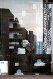 Pottery Barn Window Reflection